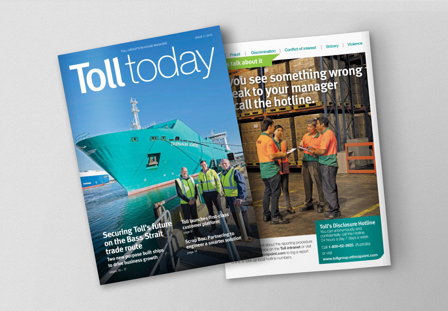 Toll Today issue 3